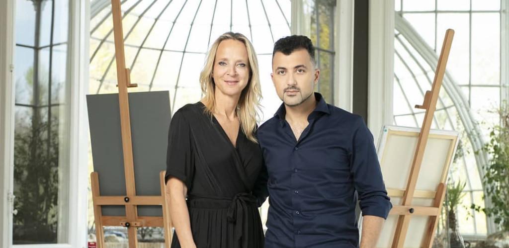 sterren op het doek, Floortje Dessing met presentator Özcan Akyol