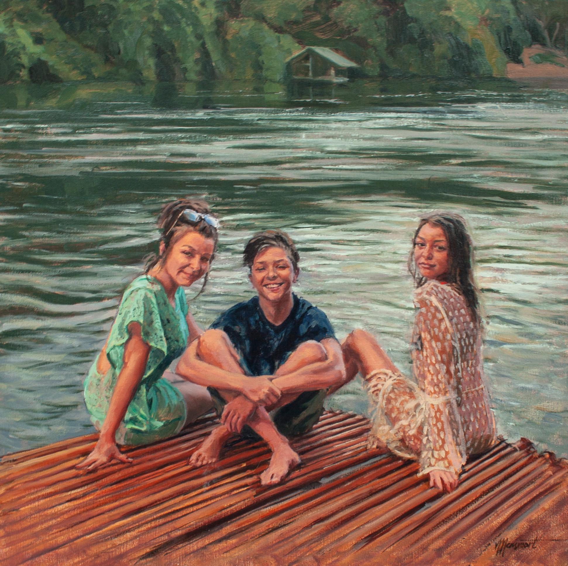 Portret van 3 kinderen